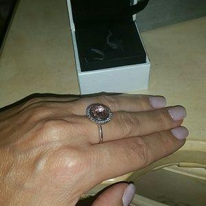 Pandora pink brilliance ring